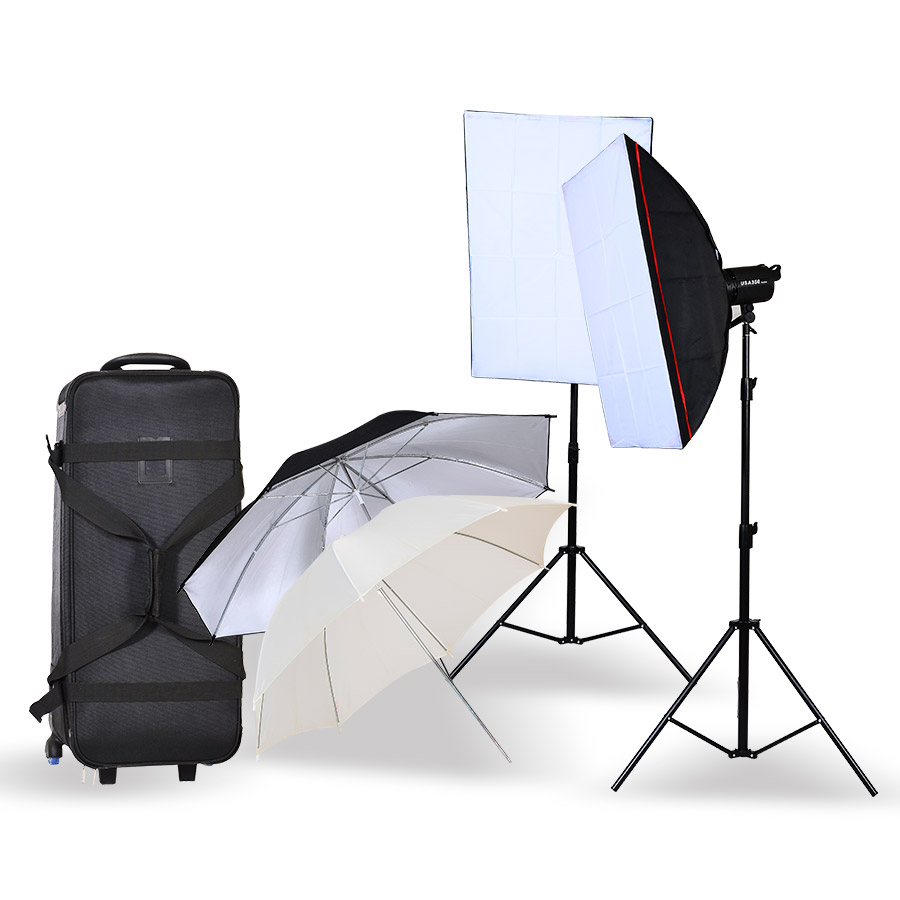 USA studio flash kit