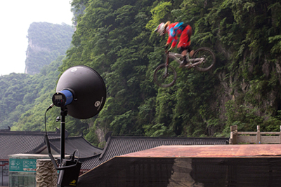 Tianmen downhill race, K4T stands out